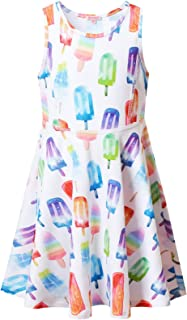Girls Sleeveless Dresses Unicorn Outfits Clothes for Kids