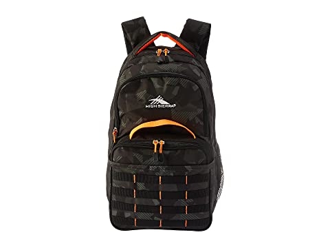 Kit Joel Mochila Sierra Black Orange Camo Shattered Lunch High Electric tA5Oxqx