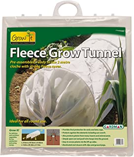 Gardman 7680 Fleece Grow Tunnel, 10' Long x 18
