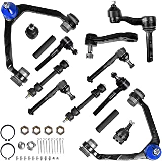 AUTOSAVER88 Front Control Arm Kit Compatible with 1997-2004 Ford Expedition/F-150/F-250, 1998-2002 Lincoln Navigator -14pc...