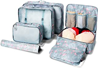 BAGAIL 7 organizadores Ligeros para Equipaje, Cubos de Embalaje para Accesorios de Viaje