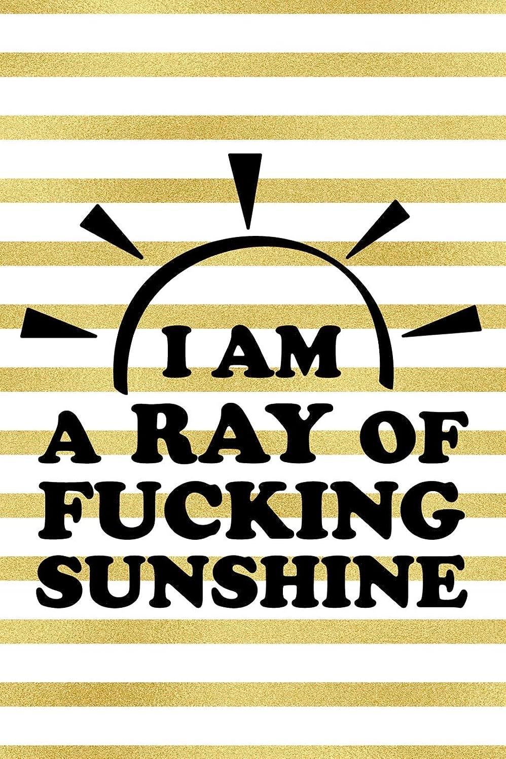 ロケット弱まる野心的I Am A Ray Of Fucking Sunshine: Blank Lined Notebook Journal Diary Composition Notepad 120 Pages 6x9 Paperback ( Female Empowerment )