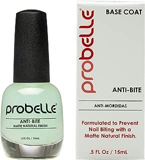 Probelle Anti-Bite – Nail Biting Treatment for Kids & Adults – No Bite Nail Polish, Thumb Guard & Thumb Sucking Stop - 9 FREE – 5 fl oz (15 ml)