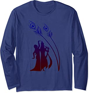 ad645a4dd66 Divine Raas Leela With Radha And Krishna Long Sleeve T-Shirt