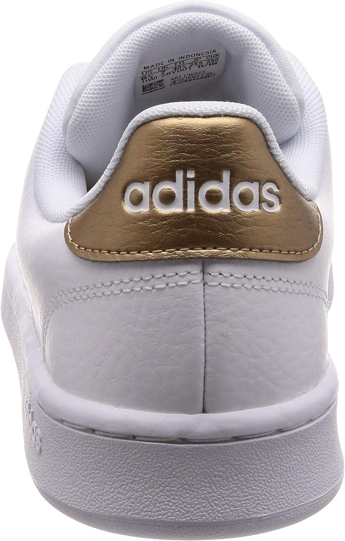 adidas ADVANTAGE Vrouwen. Sneakers Footwear White Footwear White Copper Metallic