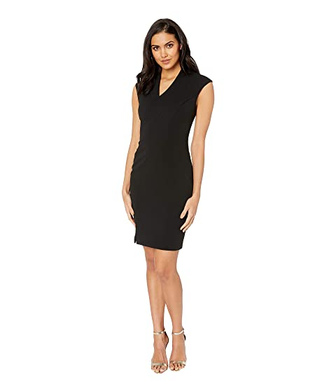 af95dc39c1a3 Ted Baker Geodese Narnia Wrap Front Pencil Dress at Zappos.com