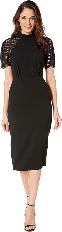 03b93faba73 BCBGMAXAZRIA. Stretch Lace Asymmetrical Hem Dress.  228.00. Black