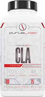 Purus Labs CLA - Stimulant Free, Foundation Series, Pure CLA, Pure Conjugated Linoleic Acid, Weight Loss Supplement - 100 ...