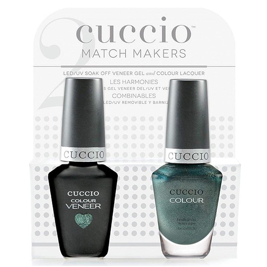 望まない議論する謎めいたCuccio MatchMakers Veneer & Lacquer - Notorious - 0.43oz / 13ml Each