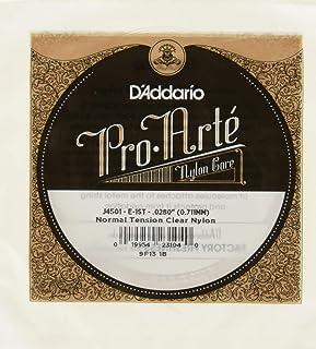 D'Addario Pro-Arte J4501 Première Corde seule en nylon pour guitare classique Normale