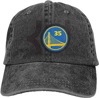 Unisex Cotton and Denim Kevin-Durant-Logo Baseball Cap Hat Dad Hat Adjustable Curved Visor Hat