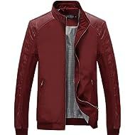 Tanming Men's Color Block Slim... Tanming Men's Color Block Slim Casual Thin Lightweight Bomber Jacket