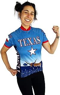Free Spirit Wear Women's Texas Cycling Jersey