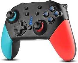 Dhaose Switch Wireless Pro Controller, Gamepad Joypad per Nintendo Switch Console e PC Supporta Gyro Axis e Dual Vibration