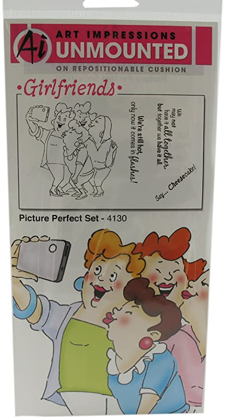 Art Impressions Picture Perfect Set Rubber Stamp