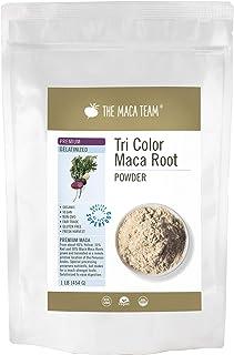 The Maca Team Premium Gelatinized Maca Powder, Potent, Premium Maca Powder, Fair Trade, GMO-Free, 1 Pound, ...