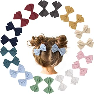 20 Pieces Baby Girls Hair Bows Clips Girl Hair Clips...
