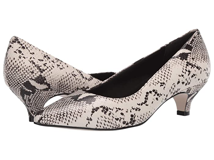 Walking Cradles  Bobbi (Black/Bone Snake Print) Womens  Shoes