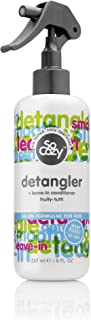 SoCozy Cinch Detangler + Leave-In Conditioner - Tug, Tear, and Tangle Free Conditioning Spray With Keratin and Soy Protein - Fruity-Tutti Scent, 8 Fluid Ounces