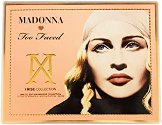 Madonna by Too Faced I Rise Makeup Collection! Includes Eyeshadow Palette, Matte Lipstick, Blush, Eyebrow Pencil And Mascara! Limited Edition & Sold Out Everywhere! Choose Your Makeup Set! (I Rise)