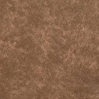 Plastex Fabrics Faux Leather Buffalo Camel Print Fabric By The Yard