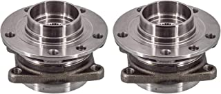 Detroit Axle - Pair (2) Front Wheel Bearing & Hub for 2014 2015 2016 2017 2018 Jeep Cherokee (Code: SDJ)