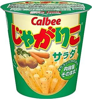 Japanese Snacks Jagariko Okashi ×12 Cups (Salad)