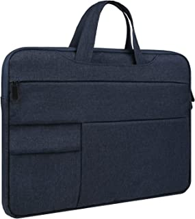 LLAYOO Laptop Sleeve,Laptop Case Bag with Handle, Fluffy Lining Full Protective Laptop Carrying Bag for Women and Men
