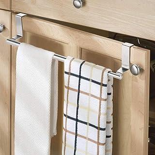 unmoniert mit Schrauben Metall Geschirrtuchhalter Stange für Küche 584 mm