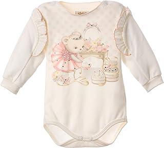 Sofija Baby Mädchen Langarm Premium Baumwolle Body Säugling Strampler Neugeborene Body Kleidung 1-18 Monate Kasjana