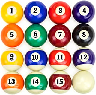 Felson Billiard Supplies Pool Table Billiard Ball Set