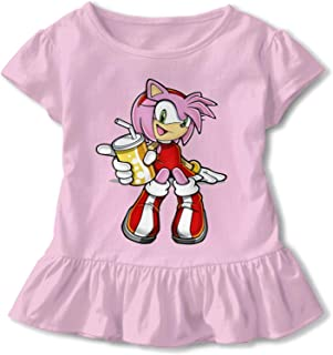 Sponsored Ad - Sherrygeoffrey Amy Rose Skirt Style T-Shirt Girls Shirt Pink