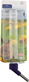 Lixit 32oz Water Bottles for Rabbits, Ferrets, Guinea Pigs and Other Small Animals. (Pack of 1, Clear)