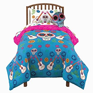 Fashion Disneys - Pixar Coco Reversible Twin / Full Comforter + Coco Mini Mystery Figure