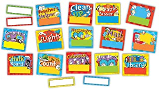 Eureka's Dr. Seuss Job Chart and Name Tags Classroom Supplies, 40 pc.
