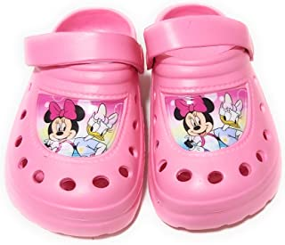 Sabots Minnie Mouse Disney pour fille – Sabots Minnie Mouse et Daisy pour plage ou piscine