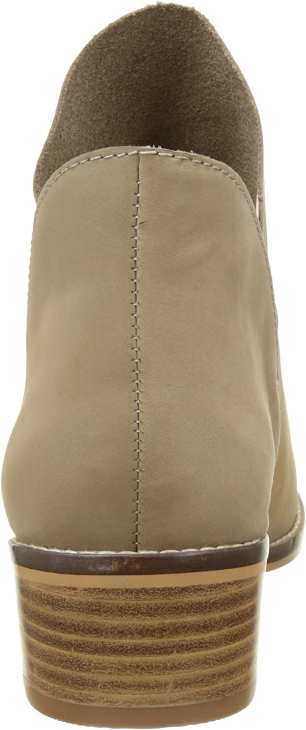 Buffalo London 416-3176 NUBUCK LEATHER dames lage laarzen Grau (Taupe 23)