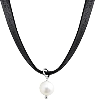 high quality leather necklace