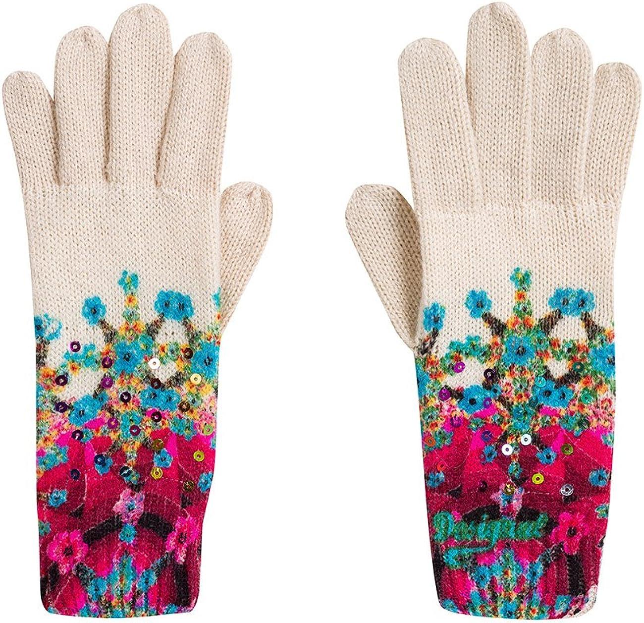 Desigual Women's Eley Woven Gloves