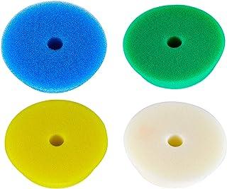 RUPES 4X Polierpad Polierschwamm Polierscheibe weich bis hart 80 100 mm