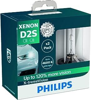 Philips X-tremeVision 85122XVS2Xenon headlight bulb D2S, set of 2