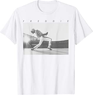 Freddie Mercury Official Howl Stage Icon B&W Photo T-Shirt