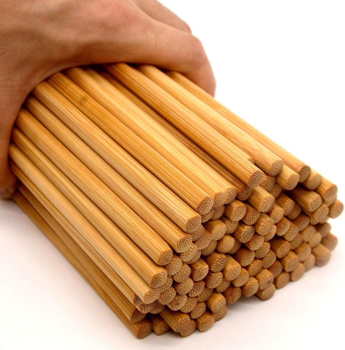 Details about  /10-Pairs Reusable Bamboo Chopsticks Set Travel Chopsticks with Case Reusable...