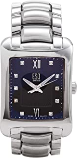 ESQ Movado Men's 7301273 Verona Diamond Accented Stainless-Steel Watch