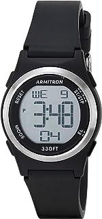 Armitron Sport Women's Digital Chronograph Matte Resin Strap Watch