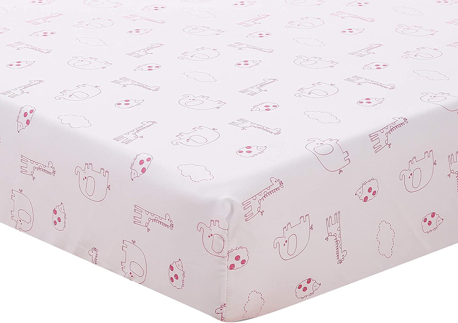 Purple Max 49% OFF Nursery Crib All items in the store Fitted Sheet Baby Girl 1 Cot PC