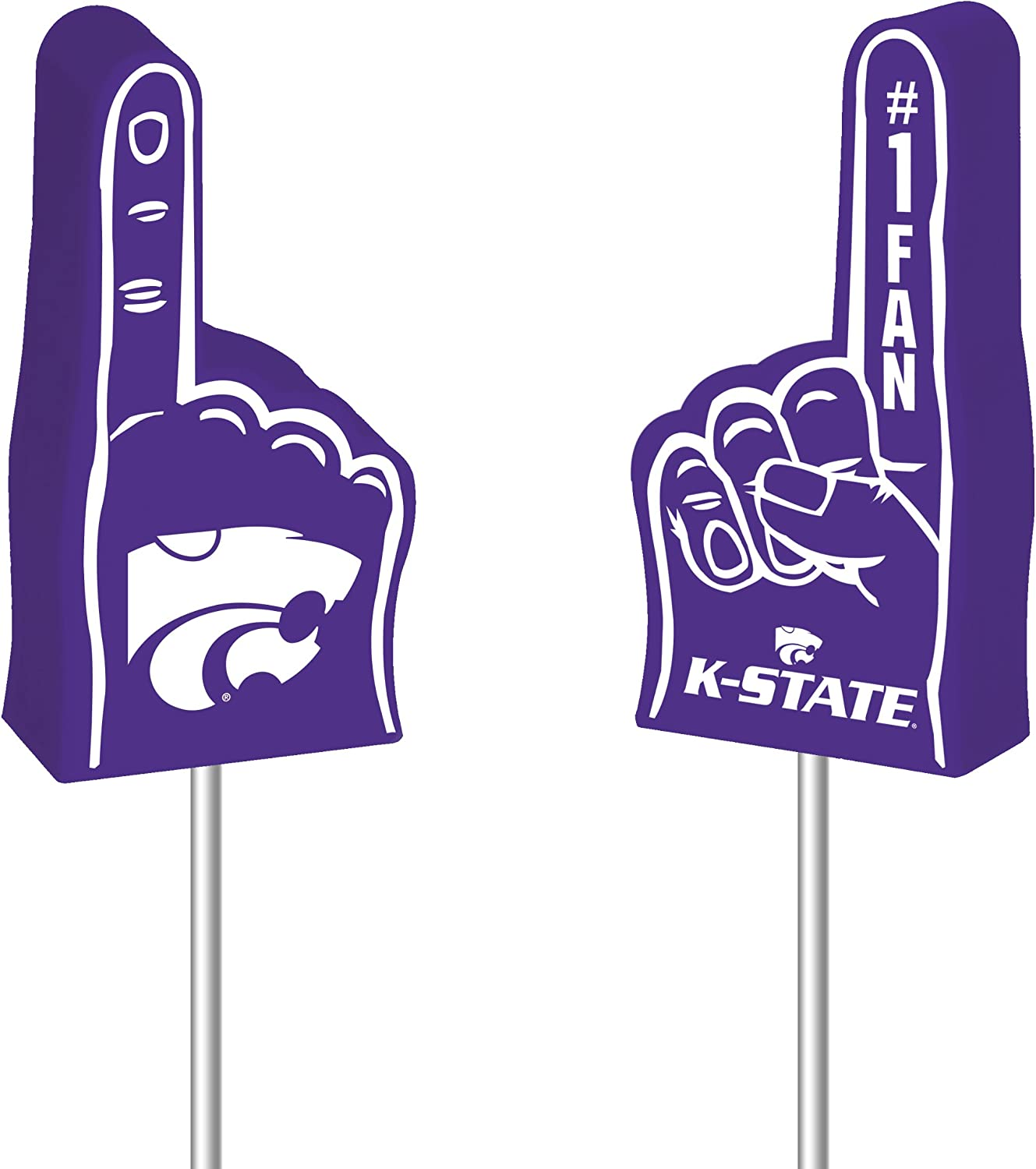 Cash All items in the store special price NCAA Kansas State Wildcats Topper Antenna Foam Finger