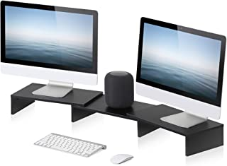 Best computer desk for 2 monitors Reviews