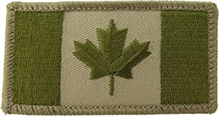 MIL-SPEC Canadian Flag Patch Arid