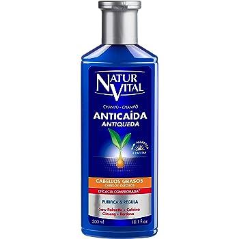 NaturVital Naturaleza y Vida Shampoo Anticaida Cabellos Grasos 300 ...